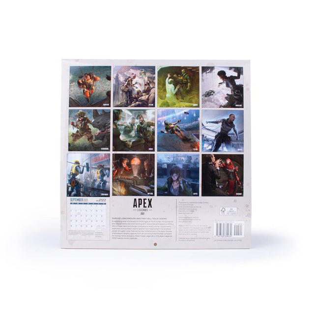 Apex Legends 2021 Wall Calendar