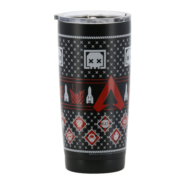Nordic Holiday Stainless Steel Tumbler