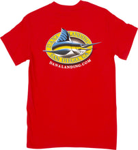 Load image into Gallery viewer, Dana Landing Logo T-Shirt - Short Sleeve - (Black, White, Navy, Royal, Red, Green)