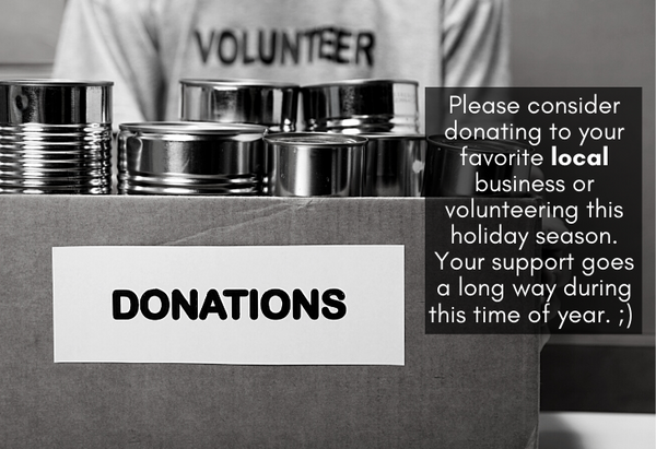 Donate or volunteer at your favorite local business