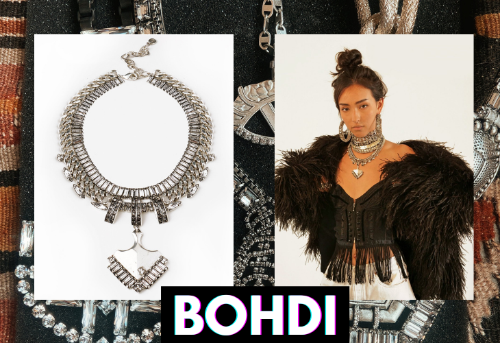 DYLAN LEX Bohdi necklace lifestyle image