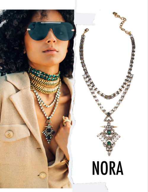 DYLAN LEX Nora necklace lifestyle image