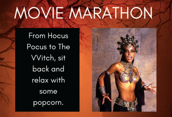 Halloween movie marathon tip