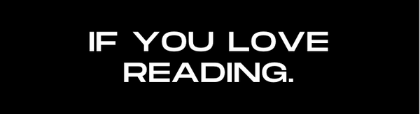 If You Love Reading text