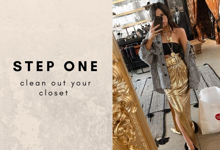 Step One: Clean Out Your Closet with lifestyle image