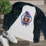 Ladies Wizard Owl Tee (Relaxed Fit)