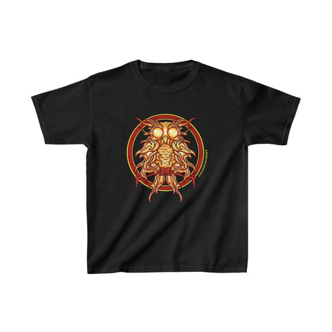 Kids Fire Owl Heavy Cotton™ Tee - Daniel Curran Art