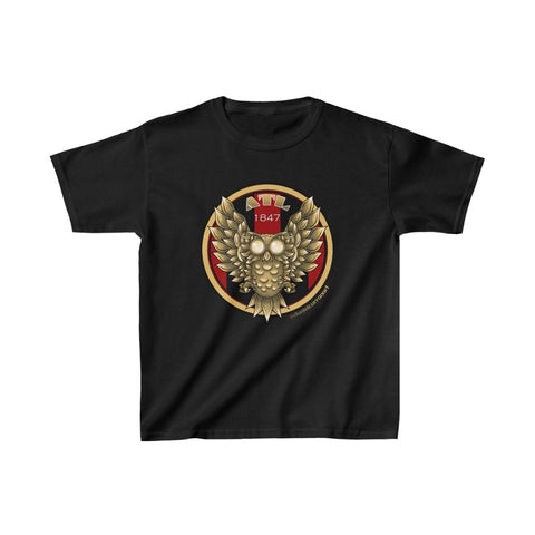 Kids Atlanta Gold Owl Heavy Cotton™ Tee - Daniel Curran Art