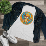 Ladies Atlanta Blue Owl Tee (Relaxed Fit)