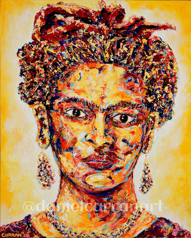 Frida - Daniel Curran Art