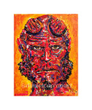 "8""x 10"" Hellboy Print (Matted)"