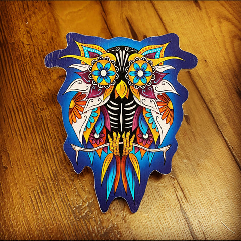 Sugar Skull Owl (Limited Edition)