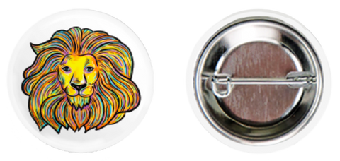 White Lion Button