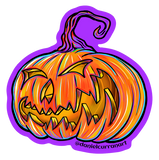 Jack o' Lantern - Black or Purple