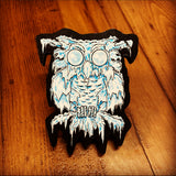 Ice Owl Print on Wood (Limited Edition)