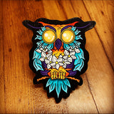 Luaowl Print on Wood (Limited Edition) - Daniel Curran Art
