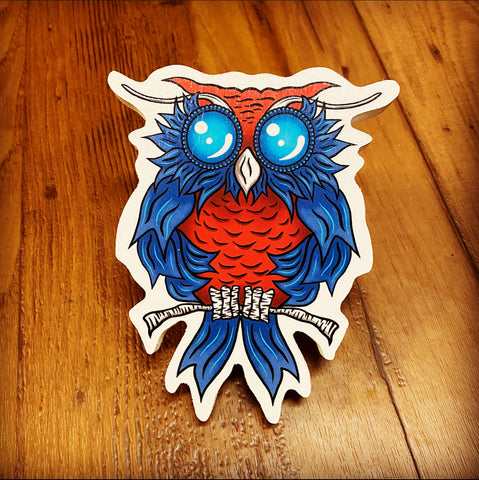 Blue Ribbon Owl (Limited Edition)