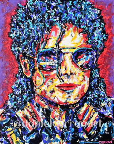 King of Pop - Daniel Curran Art