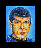 "8""x 10"" Spock Print (Matted)"