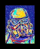 "5""x 7"" Storm Trooper Print (Matted)"