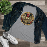 Ladies Atlanta Gold Owl Tee (Relaxed fit) - Daniel Curran Art