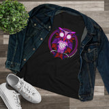 Ladies Heart Owl Tee (Relaxed Fit)