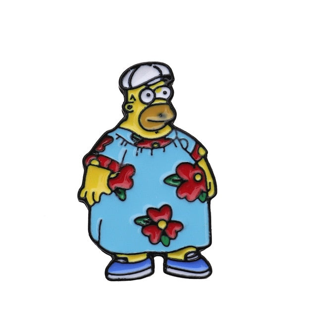 King Size Homer Enamel Pin