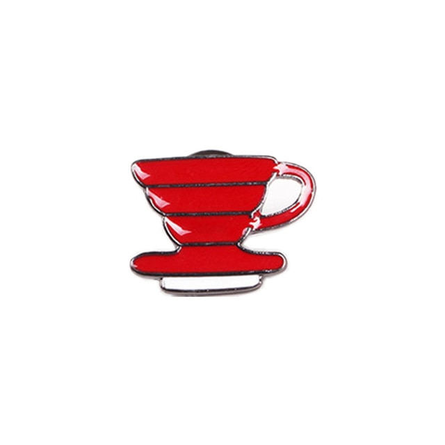 Drip Coffee Enamel Pin