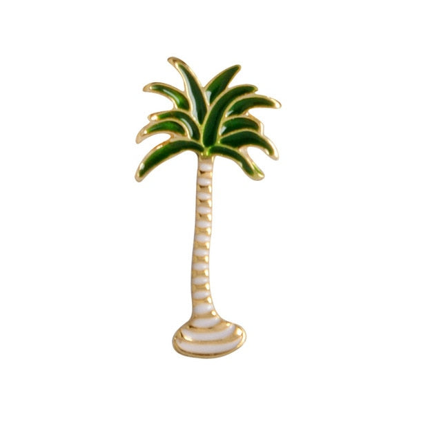 Palm Tree Enamel Pin