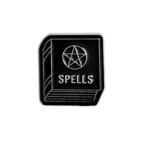 Book of Spells Fantasy Enamel Pin