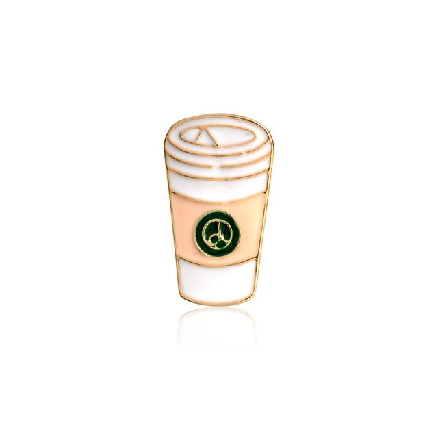 Coffee Takeout Enamel Pin