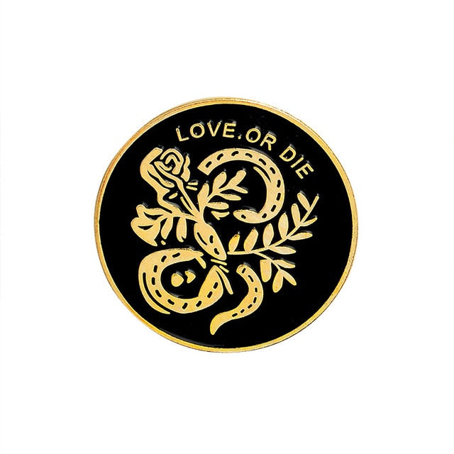 Love or Die Enamel Pin