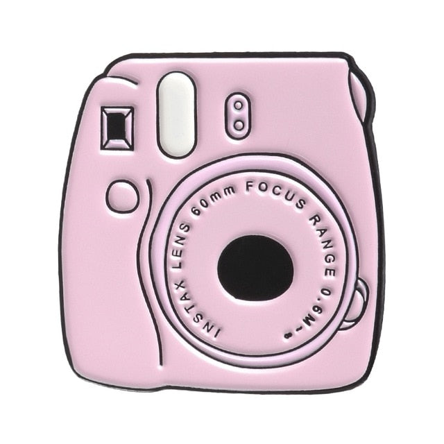Instax Camera Enamel Pin