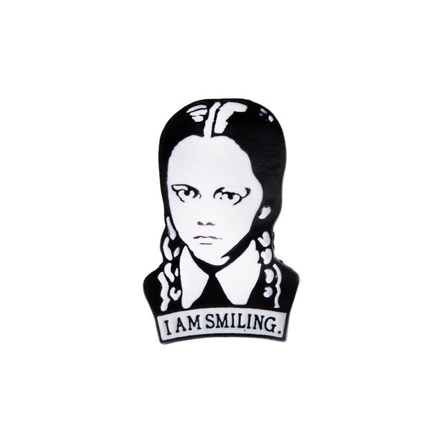 I Am Smiling Enamel Pin