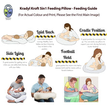 Load image into Gallery viewer, Epic-Krady Kroft 5in1 Feeding Pillow