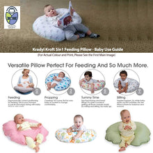 Load image into Gallery viewer, Cyan Star-Krady Kroft 5in1 Feeding Pillow