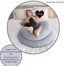 Load image into Gallery viewer, Fuschia Pink-Coozly C Premium LYTE Pregnancy Body Pillow