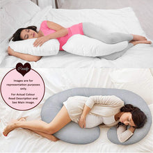 Load image into Gallery viewer, Grey-Coozly C Basic Pregnancy Body Pillow