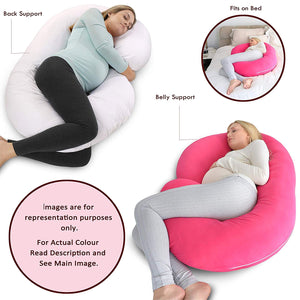 Fuschia Pink-Coozly C Premium LYTE Pregnancy Body Pillow