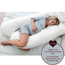 Load image into Gallery viewer, Fuschia Pink - Coozly Premium LYTE Body Contour Pregnancy Pillow