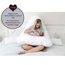 Load image into Gallery viewer, Red - Coozly Premium LYTE Body Contour Pregnancy Pillow