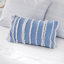 Load image into Gallery viewer, Coozly Special Edition Pillows - Powder Blue Ruffled - 1pc