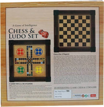 Load image into Gallery viewer, Chess & Ludo Set