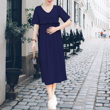Load image into Gallery viewer, Nursing Maternity Dress