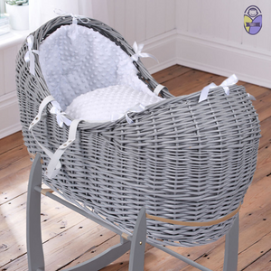 Kradyl Kroft Moses Basket - Grey