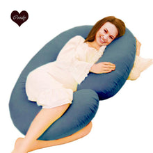 Load image into Gallery viewer, Navy-Coozly C Premium LYTE Pregnancy Body Pillow