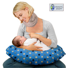 Load image into Gallery viewer, Einstein Blue-Krady Kroft 5in1 Feeding Pillow