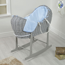 Load image into Gallery viewer, Kradyl Kroft Moses Basket - Grey