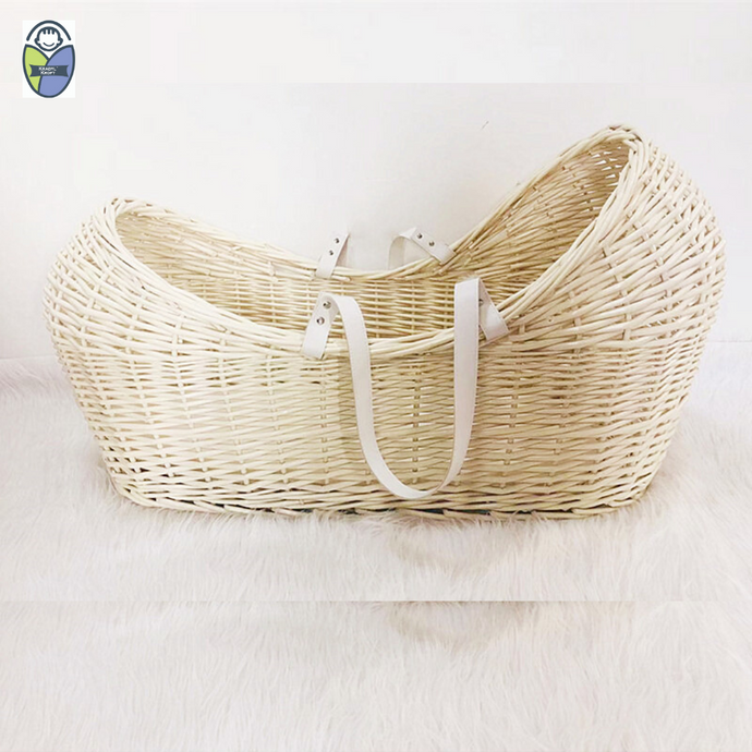 Kradyl Kroft Moses Basket - Natural