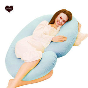 Light Blue-Coozly C Premium LYTE Pregnancy Body Pillow
